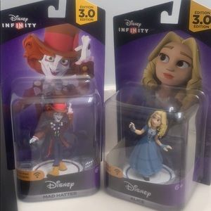 Disney Infinity Alice In Wonderland Characters NWB